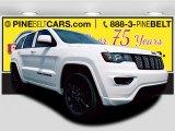 2017 Bright White Jeep Grand Cherokee Laredo 4x4 #121824341