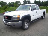 2006 GMC Sierra 2500HD Work Truck Extended Cab Data, Info and Specs