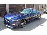 2015 50th Anniversary Kona Blue Metallic Ford Mustang 50th Anniversary GT Coupe #121824271
