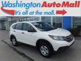 2014 White Diamond Pearl Honda CR-V LX AWD #121847008