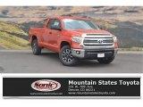 2017 Inferno Orange Toyota Tundra SR5 Double Cab 4x4 #121846960