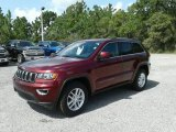 2017 Velvet Red Pearl Jeep Grand Cherokee Laredo #121847165