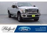 2012 Ingot Silver Metallic Ford F250 Super Duty Lariat Crew Cab 4x4 #121847066