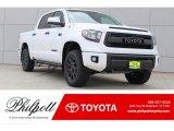2017 Super White Toyota Tundra TRD PRO CrewMax 4x4 #121847061