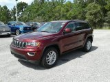 2017 Velvet Red Pearl Jeep Grand Cherokee Laredo #121847152