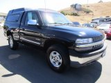 2002 Onyx Black Chevrolet Silverado 1500 LS Regular Cab 4x4 #121867947