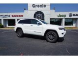 2017 Bright White Jeep Grand Cherokee Limited #121867884