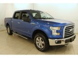 2015 Blue Flame Metallic Ford F150 XL SuperCrew 4x4 #121891030