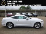 2017 Oxford White Ford Mustang V6 Coupe #121890819