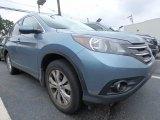 2014 Twilight Blue Metallic Honda CR-V EX-L AWD #121890812