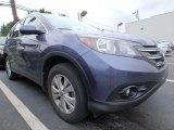 2014 Twilight Blue Metallic Honda CR-V EX-L AWD #121890811