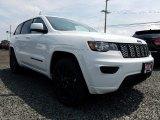 2017 Bright White Jeep Grand Cherokee Laredo 4x4 #121890740