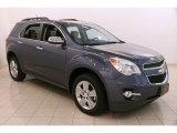 2014 Atlantis Blue Metallic Chevrolet Equinox LT #121891070