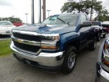 2018 Deep Ocean Blue Metallic Chevrolet Silverado 1500 LS Regular Cab 4x4 #121891056