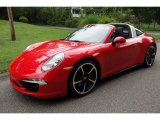 2016 Porsche 911 Guards Red