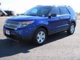 2013 Deep Impact Blue Metallic Ford Explorer 4WD #121928526