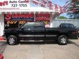 2000 Onyx Black Chevrolet Silverado 1500 LS Extended Cab 4x4 #12133927
