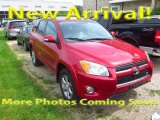 2011 Barcelona Red Metallic Toyota RAV4 V6 Limited 4WD #121945701