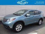 2014 Mountain Air Metallic Honda CR-V EX AWD #121945692