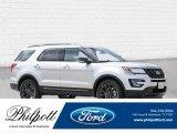2017 Ingot Silver Ford Explorer XLT #121945894