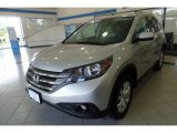 2012 Alabaster Silver Metallic Honda CR-V EX-L 4WD #121946006