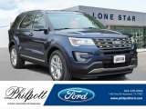 2017 Blue Jeans Ford Explorer XLT #121975370