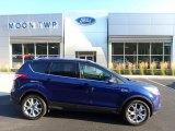 2016 Deep Impact Blue Metallic Ford Escape Titanium 4WD #121975368