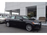 2017 Shadow Black Ford Fusion SE #121975350
