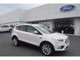 2017 Ford Escape White Platinum