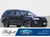 2017 Shadow Black Ford Explorer XLT #121993529