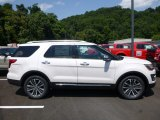 2017 White Platinum Ford Explorer Platinum 4WD #121993512