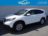 2014 White Diamond Pearl Honda CR-V EX AWD #121993270
