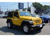 2011 Detonator Yellow Jeep Wrangler Sport 4x4 #121993351