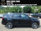 2017 Shadow Black Ford Explorer Sport 4WD #122023398