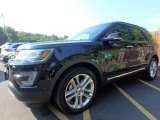 2016 Shadow Black Ford Explorer Limited 4WD #122023456