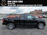 2017 Shadow Black Ford F150 XL SuperCab 4x4 #122023395