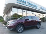 2017 Basque Red Pearl II Honda CR-V EX-L AWD #122023503