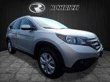 2014 Alabaster Silver Metallic Honda CR-V EX-L AWD #122023388