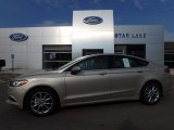 2017 White Gold Ford Fusion SE #122023729