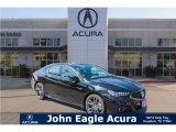 2018 Crystal Black Pearl Acura TLX V6 A-Spec Sedan #122023364