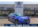 2018 Still Night Blue Pearl Acura TLX V6 A-Spec Sedan #122023363