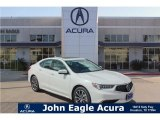 2018 Bellanova White Pearl Acura TLX V6 Sedan #122023362