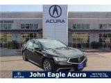 2018 Crystal Black Pearl Acura TLX V6 Sedan #122023353