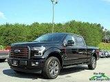 2017 Shadow Black Ford F150 Lariat SuperCrew 4X4 #122023291