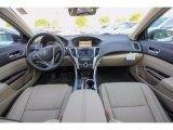 2018 Acura TLX V6 SH-AWD Advance Sedan Parchment Interior