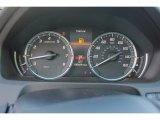2018 Acura TLX V6 SH-AWD Advance Sedan Gauges