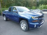 2018 Chevrolet Silverado 1500 Deep Ocean Blue Metallic