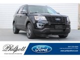 2017 Shadow Black Ford Explorer Sport 4WD #122061353
