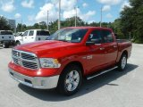 2017 Flame Red Ram 1500 Big Horn Crew Cab #122063392