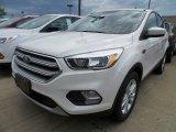 2017 White Platinum Ford Escape SE #122063341